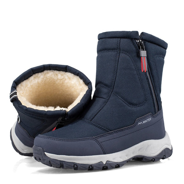 KM Winter New Thick Snow Boots