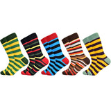 New High Quality Brand Classic Striped Socks for Men