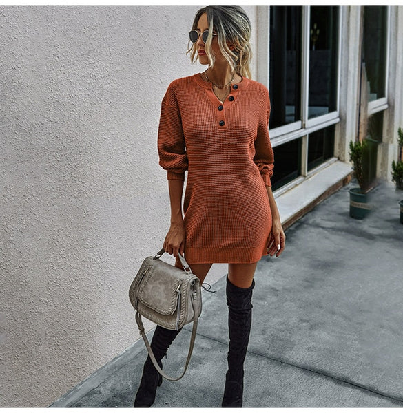 KM Autumn / Winter Arrival Sweater Dress