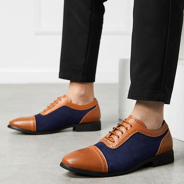 KM Hot Sale Business Dress Men Shoes