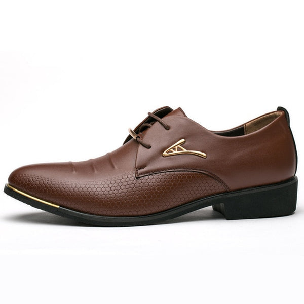 KM Classic Business Dress Shoes