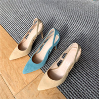 KM Hot New Arrival Point Toe Elegant Shoes