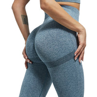 KM Sexy Women Bubble Butt Push Up Fitness High Waist Leggings