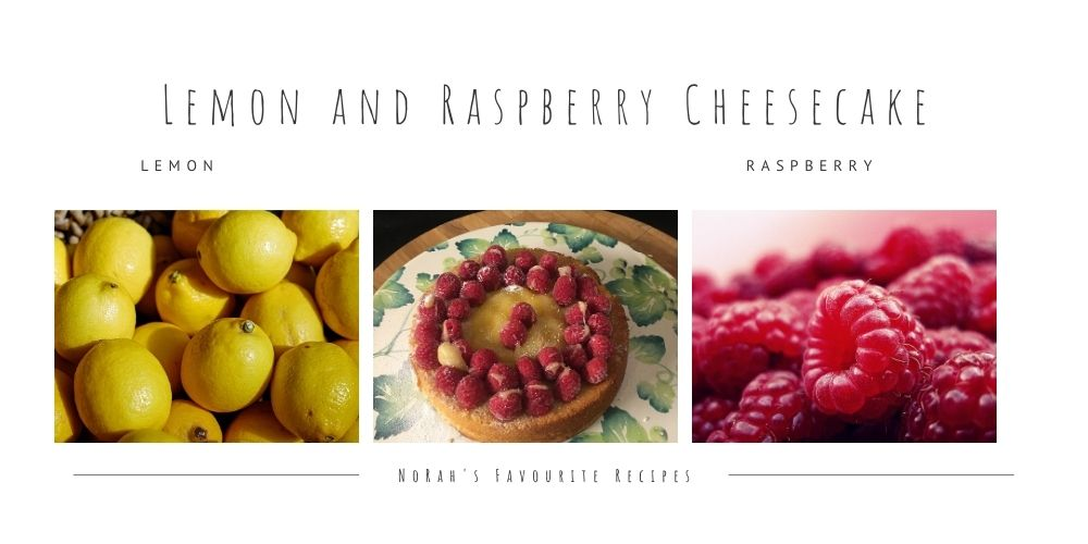 Lemon and Raspberry Cheesecake
