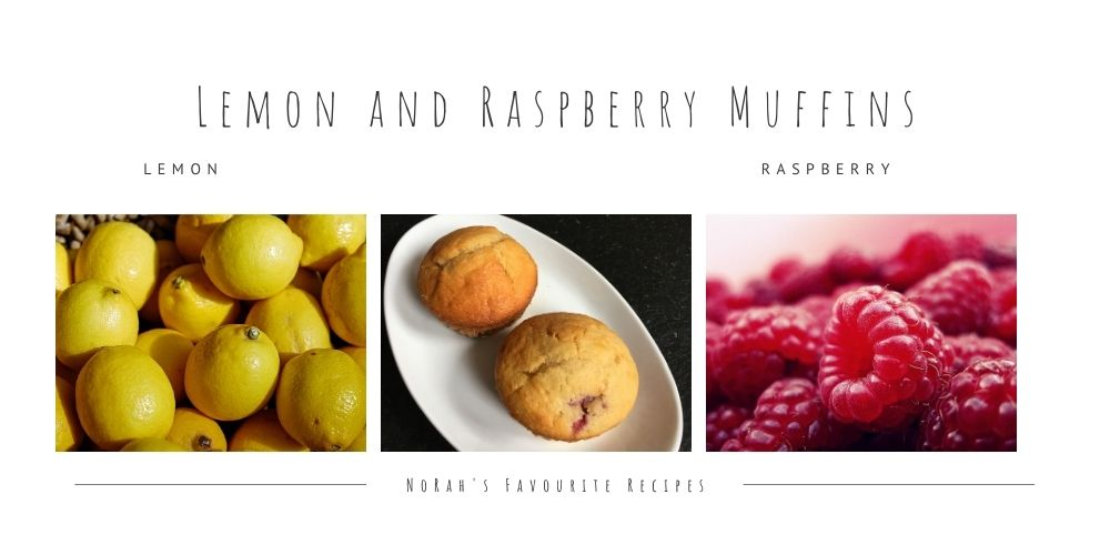 Lemon and Raspberry Muffins