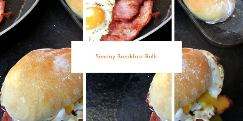 Sunday Breakfast Rolls