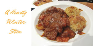 Beef Stew & Dumplings – A Hearty Winter Warming Recipe