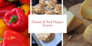 Cheese & Red Pepper Scones