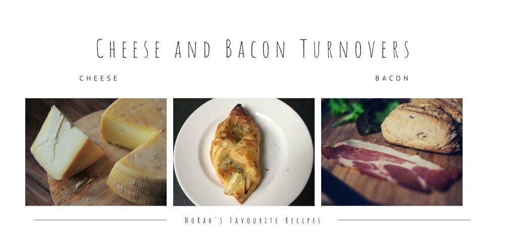 Cheese and Bacon Turnovers