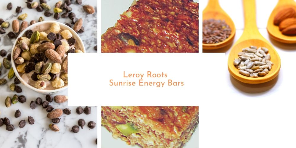 Leroy Roots Sunrise Energy Bars