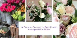 A Guide to Creating an Easy Flower Arrangement at Home