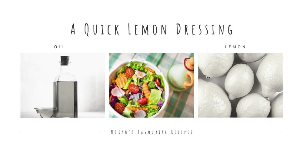 Lemon Dressing Recipe