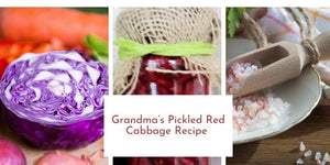 Grandma's Pickled Red Cabbage Recipe for Christmas