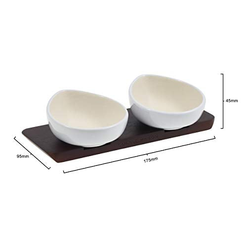Condiment Bowls with Stand
