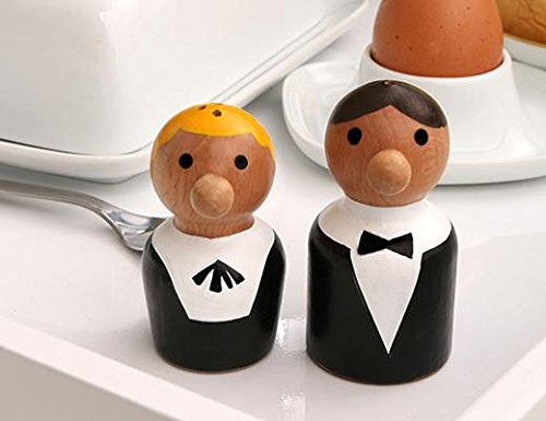 Waiter Salt and Pepper Shakers