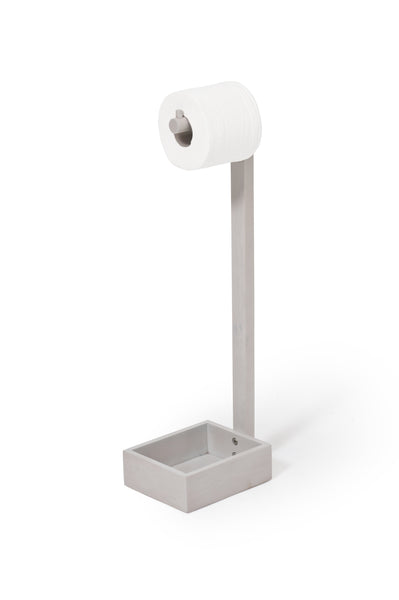 Wireworks Mezza Freestanding Toilet Roll Holder