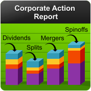 Corporate Action Report