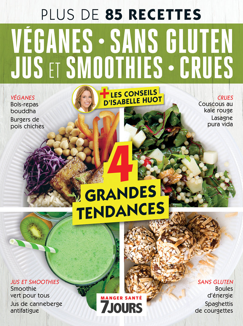 No.12 | Véganes, sans gluten, jus et smoothies, crues