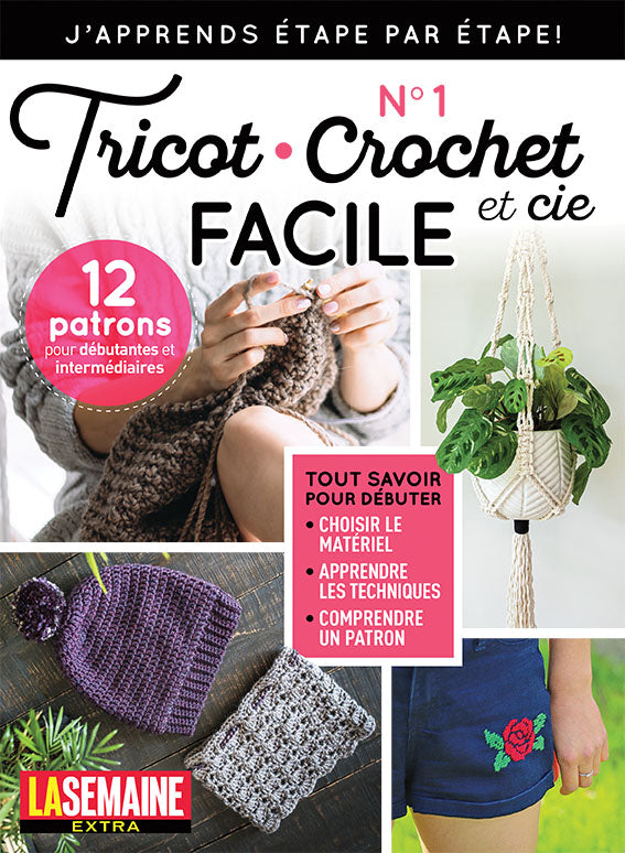 No.18 | Tricot et Crochet Facile