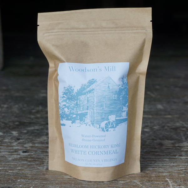 Hickory King White Cornmeal (1 lb)