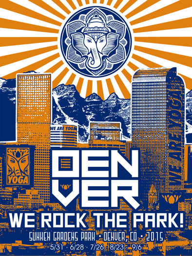 Yoga Rocks The Park Denver