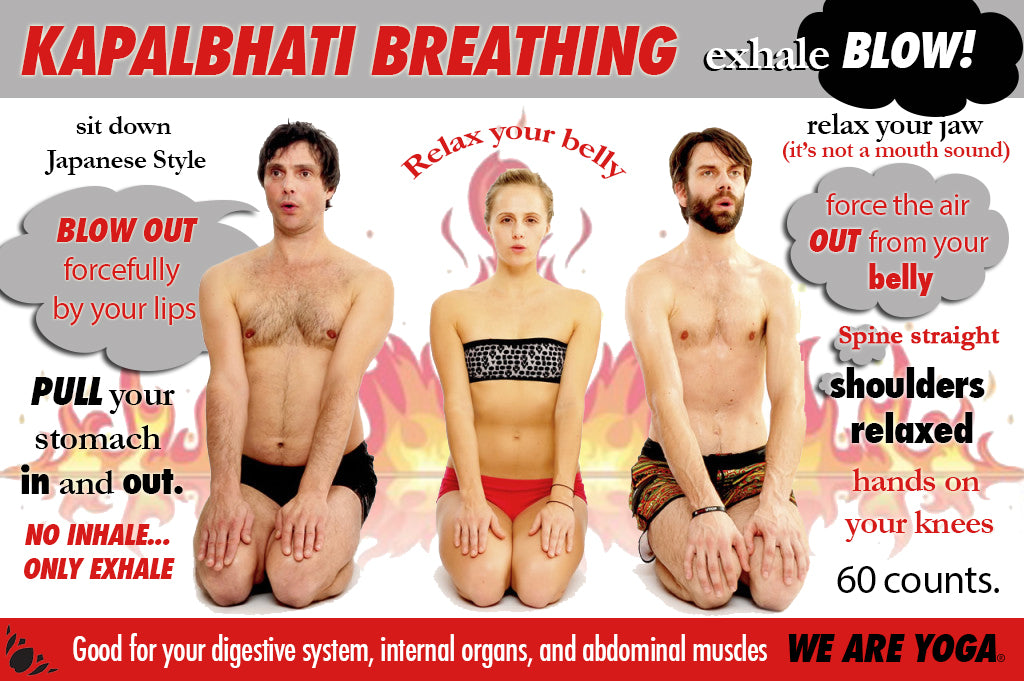 Kapalbhati Breathing - WE ARE YOGA