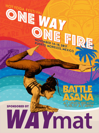 One Fire Fest + Battle Asana