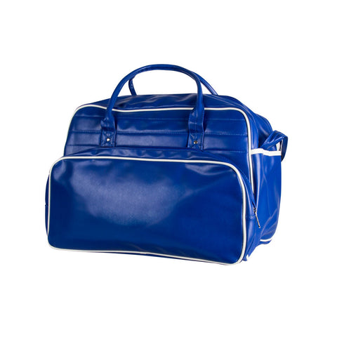 Retro Travel Bag - Blue No Logo