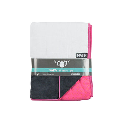 WAYmat Pink-Cotton-Bleachable
