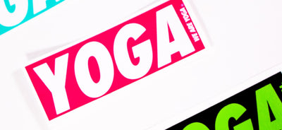 YOGA Bar Sticker - more colors available