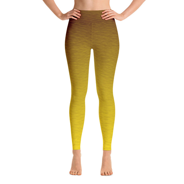 Core Yellow High Waist WAYleggings