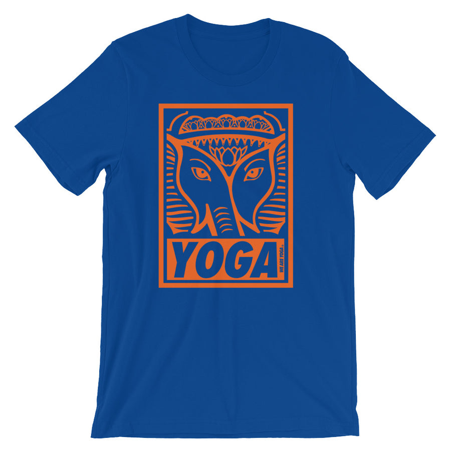 Blue + Orange Stamp Team Tee