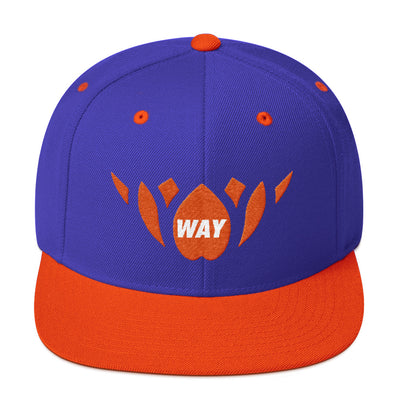 Blue & Orange-Snapback Hat