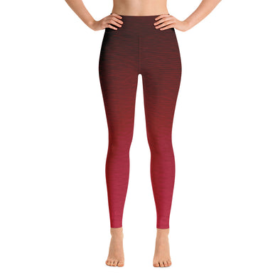Core Red High Waist WAYleggings