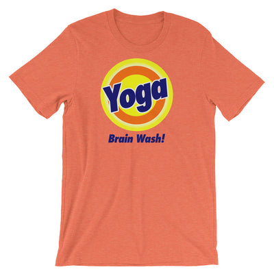 YOGA BRAIN WASH-Short-Sleeve Unisex T-Shirt