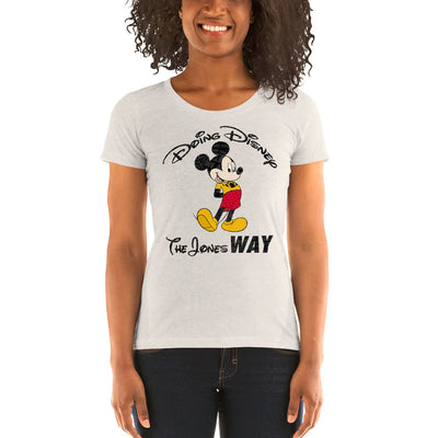 Jones' Disney Ladies' short sleeve t-shirt
