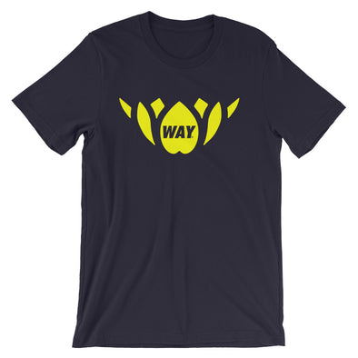 Navy + Yellow Lotus Team Tee