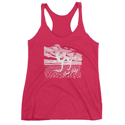 BOY BOYS-Women's Racerback Tank