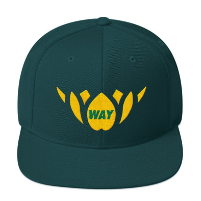 Green & Gold-Snapback Hat