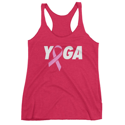 YOGA for the Cure Racerback Tank
