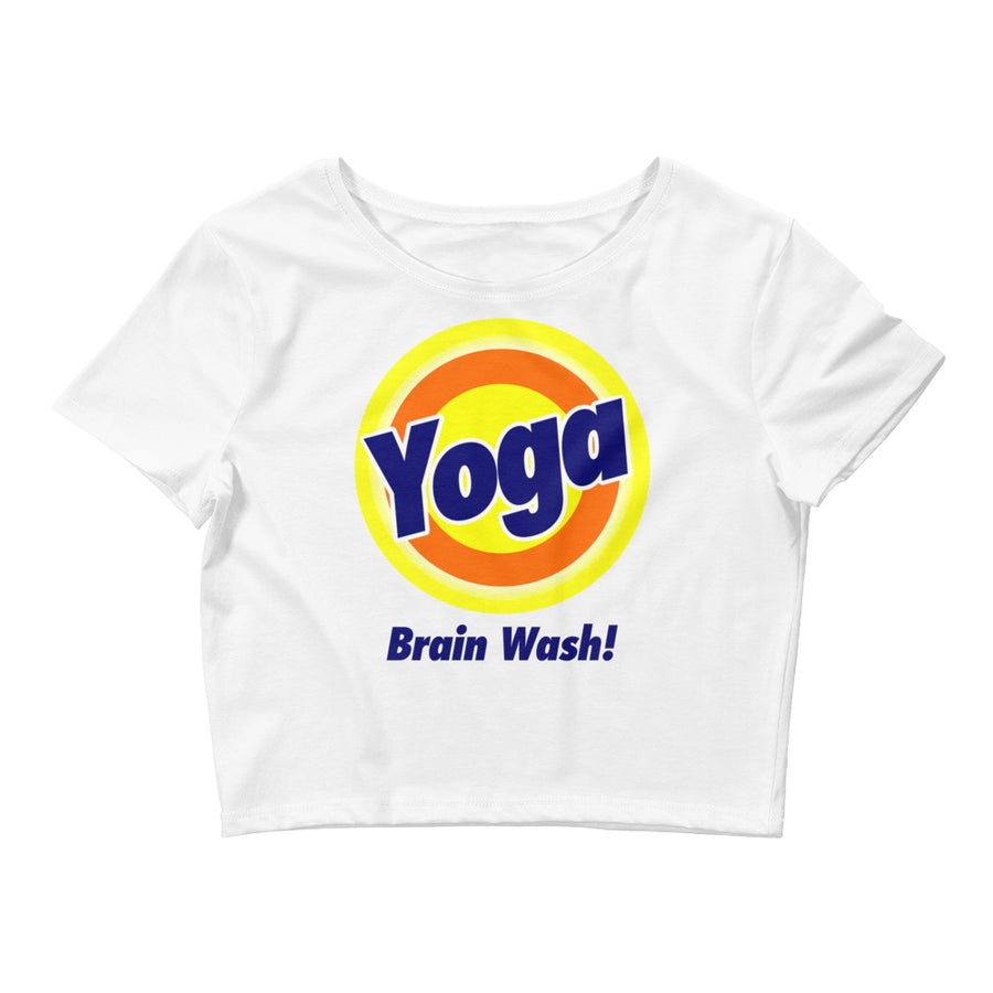 Yoga Brain Wash Crop Top