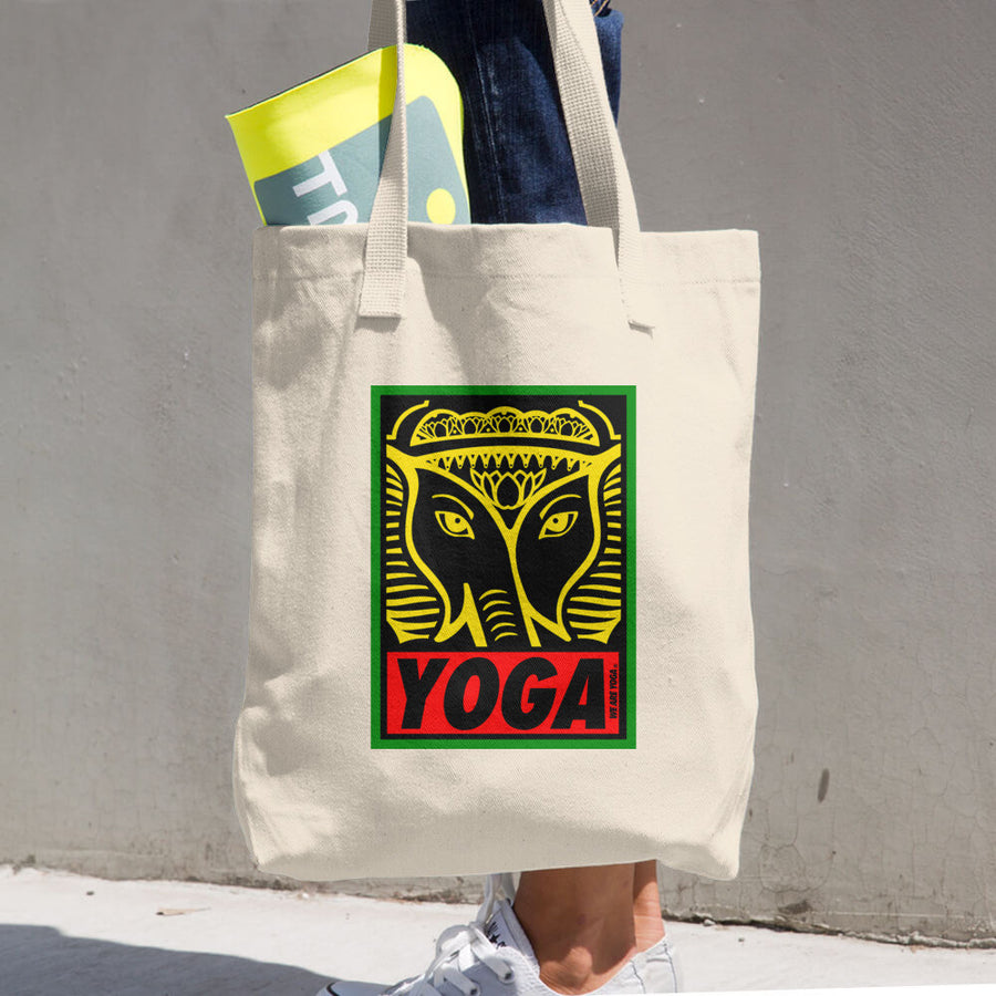 Rasta OG Stamp Cotton Tote Bag