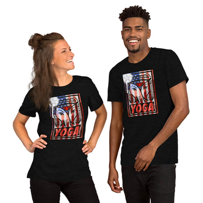 WAY USA STAMP-Short-Sleeve Unisex T-Shirt