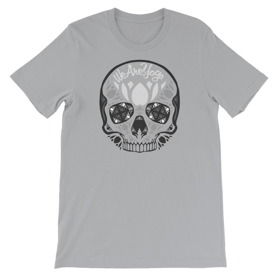 Gray Sugar Skull Tee Shirt