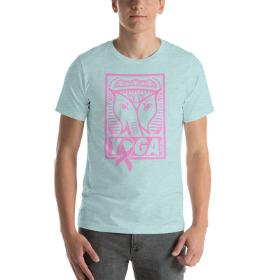 Yoga 4 the Cure Bubblegum Stamp Tee