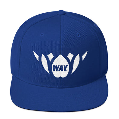 Waymat Blue Team Snapback Hat