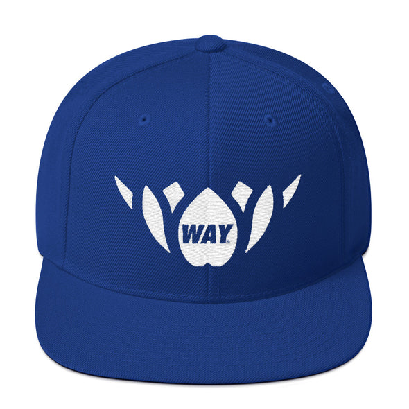 Blue & White-Snapback Hat