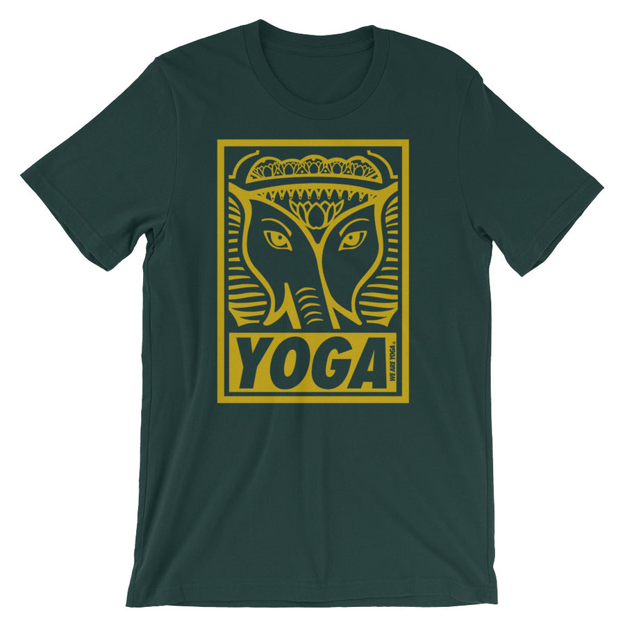 Green + Gold Stamp Team Tee