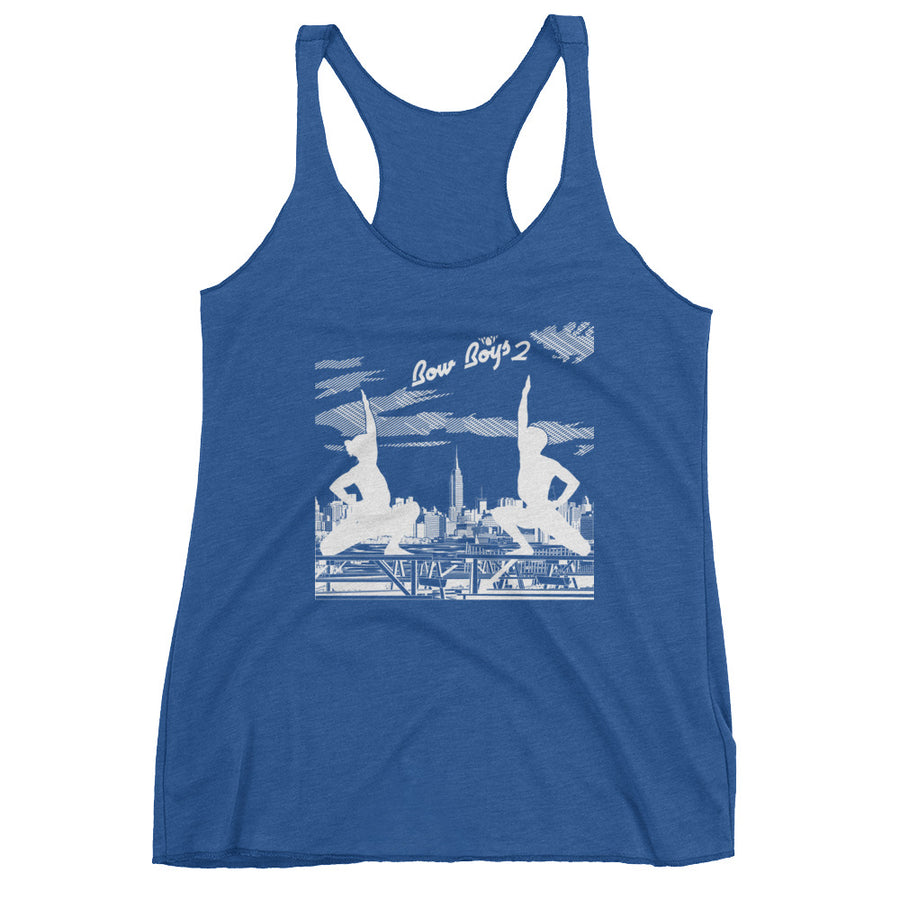 BOW BOYS 2-Women's Racerback Tank