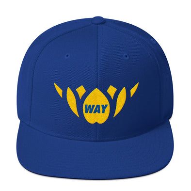 Blue & Yellow/Gold-Snapback Hat